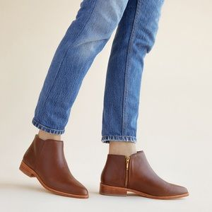 Nisolo Lana Boot in Brandy
